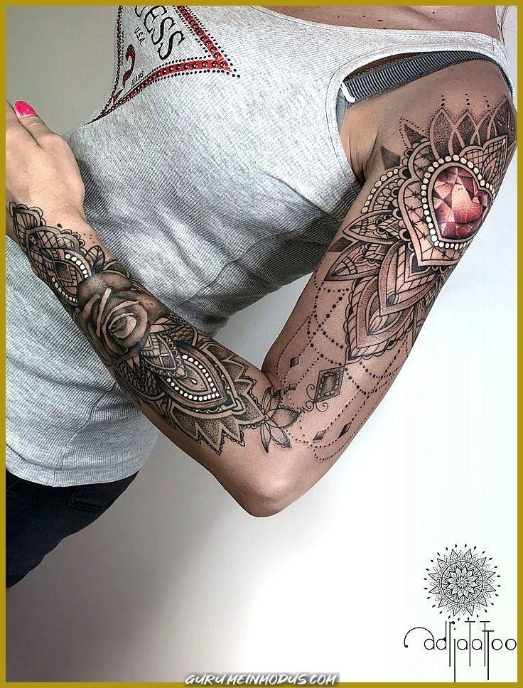 Unique And Creative Exquisite Decorative Tattoos By Adrianna Sak Unique And Creative Exquisite Decorat In 2020 Lace Tattoo Arm Tattoos For Women Lace Sleeve Tattoos