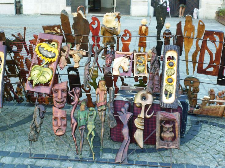 A stree shop in old town with african tipical objects  #african #old #town #wroclaw #poland