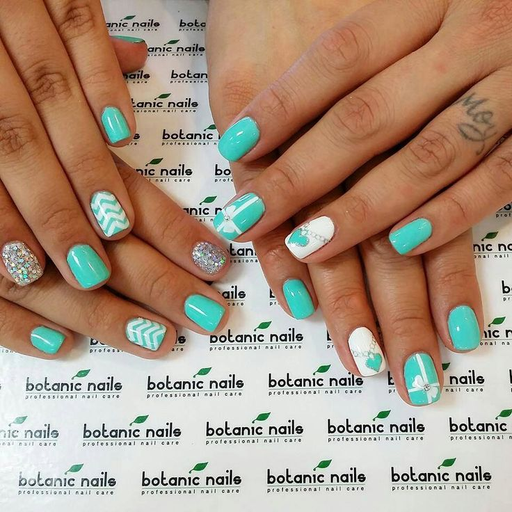 168 best nails images on pinterest nail design gel nails and tiffany and co nails prinsesfo Images