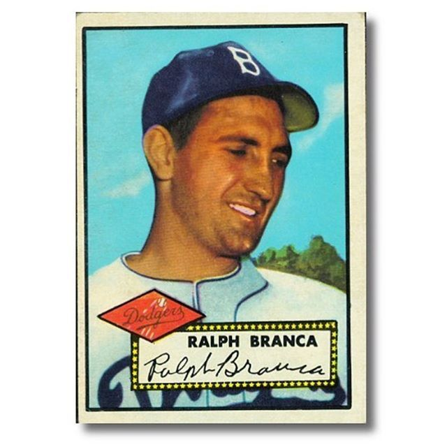 "victoryjournal ""Nobody remembers that at 21, I won 21 games (or) at 25, I had 75 wins. All they remember is the homer."" Today, let's do #RalphBranca the justice of honoring his complete legacy both on and off the field. Our deepest sympathies are with the family and friends of the great #Brooklyn #Dodger. #RIP 2016/11/24 07:40:52"