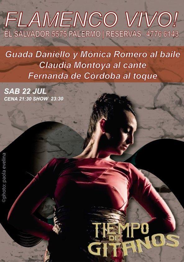 Este sábado no te pierdas este increíble Show de Flamenco!!! Solo con Reservas al 4776 6143 | Los esperamos !!