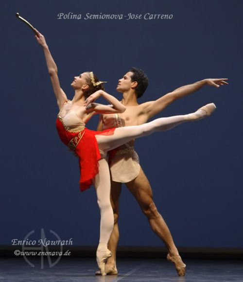 Polina Semionova and Jose Carreno dancing Diana and Acteon