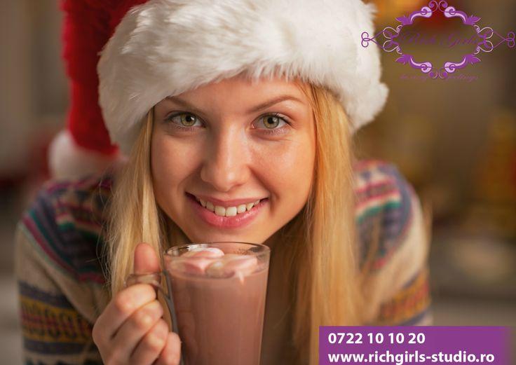 Buna dimineata! In aceasta zi racoroasa va asteptam la o ciocolata calda si o discutie libera! Afla si tu ce avantaje iti oferim ca model la Rich Girls de pe site-ul nostru!