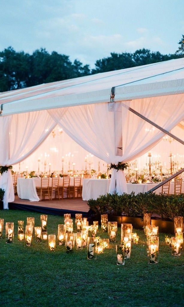 31 Prettiest Ways to Decorate Your Wedding with Candles