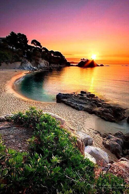 Beach Sunset #BeautifulNature #NaturePhotography #Nature #Photography #Sunsets #Reflections