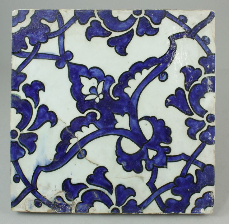 An Ottoman 'Dome of the Rock' tile, probably Aleppo, Syria, late 16th century