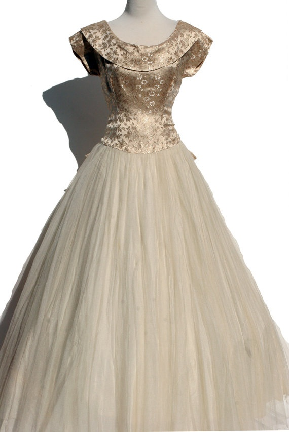 Vintage cocktail dress - absolutely beautiful