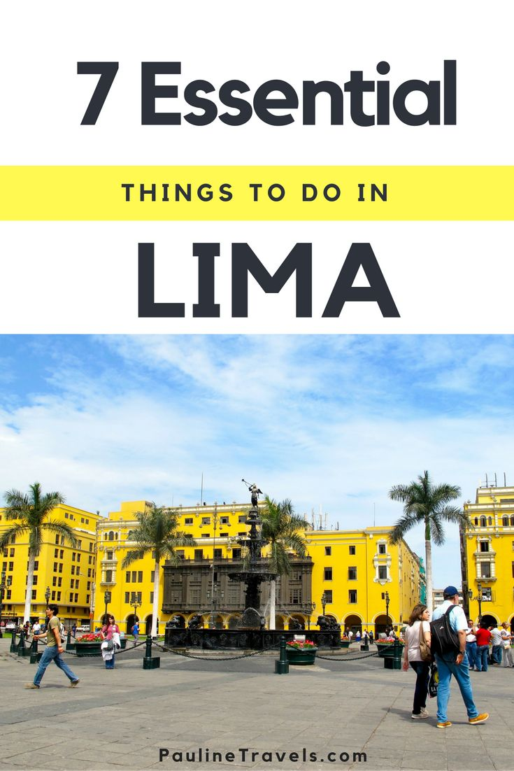 7 Essential Things to do in Lima: Miraflores for lunch & dinner in Barranco