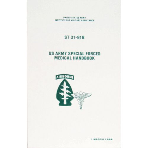 US Army Special Forces Medical Handbook -59-50