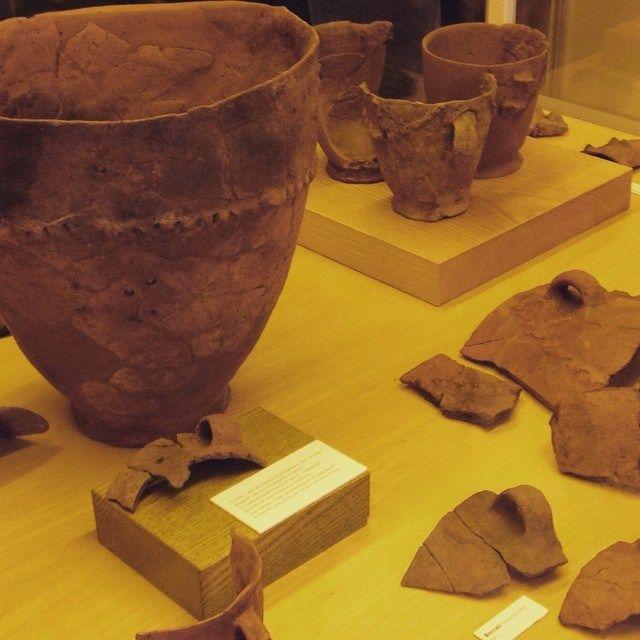 Alla scoperta dei reperti del Museo di Piadena con #idpiadena: ceramiche del Neolitico, le prime prodotte dall'uomo #invasionidigitali #invasionidigitalicr