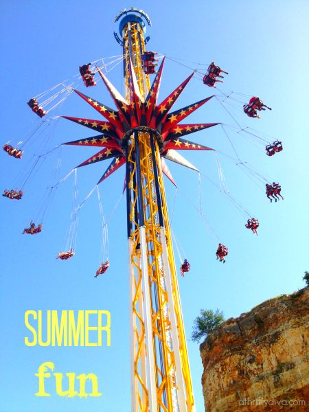 Summer Fun at Six Flags Fiesta Texas