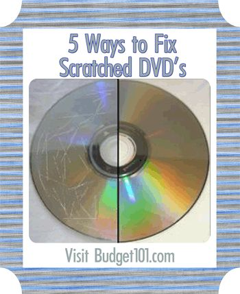 how to fix scratched dvds