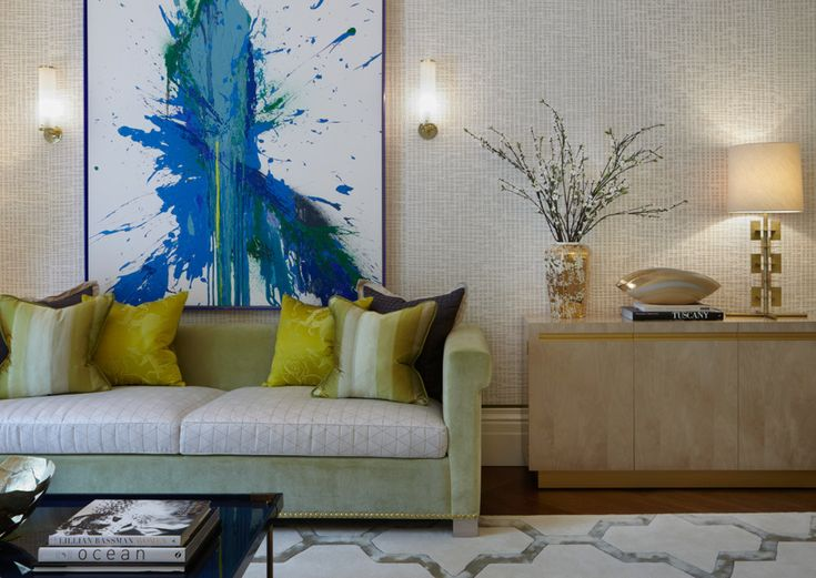 Tour A Sophisticated London Townhouse With Bold Artwork And Bespoke Furnishings Designed By Helen Green Design