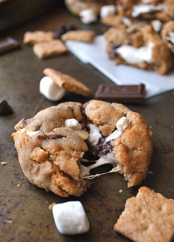 Top-10 S'mores Cookie Recipes - RecipePorn