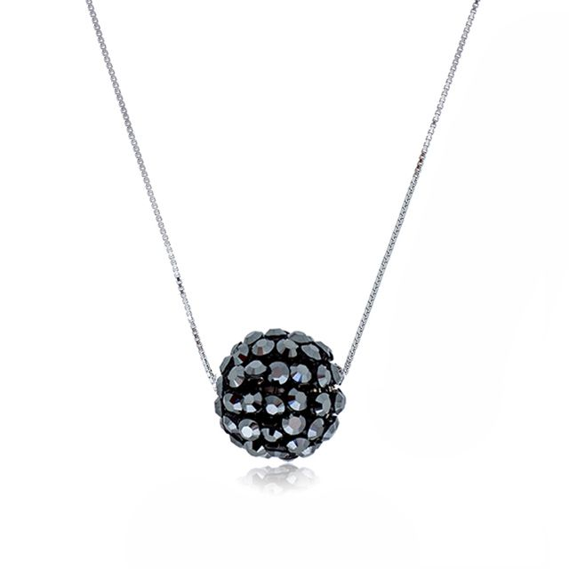 Glam Big Black Diva Ball Pendant Necklace - Online shopping for Glam Big Black Diva Ball Pendant Necklace. Wholesale welcomed. 28Mall only sells original brands items. Get up to US$28 HongBao shopping credit for new members www.28Mall.com/s/P37