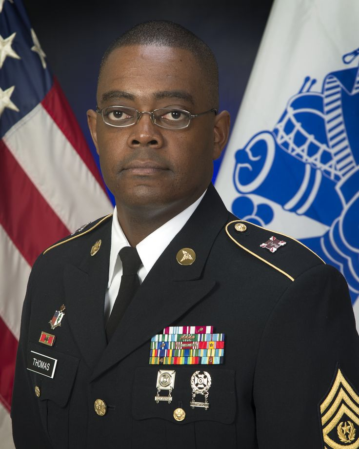 CSM Lance Thomas, Command Sergeant Major, Fort Meade ...