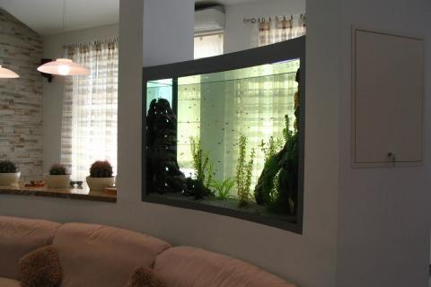 аквариум-перегородка