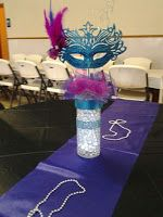 Centros de Mesa Carnaval Party #sweet15 #quinceanera #carnaval #ideas #wedding #centrosdemesa