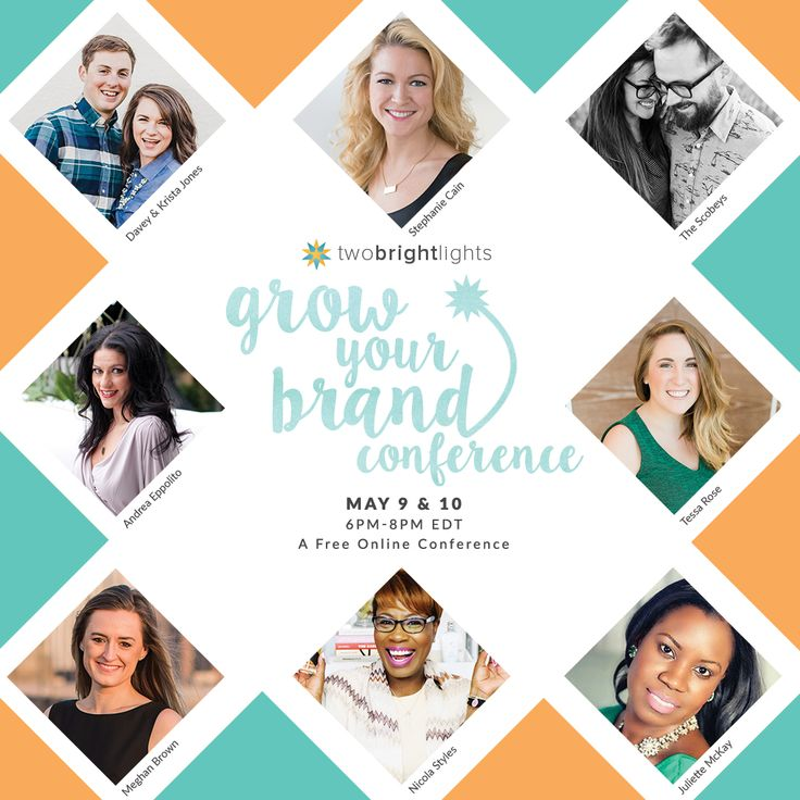 Grow Your Brand Conference online May 9-10 #photographyconference #growyourbrand