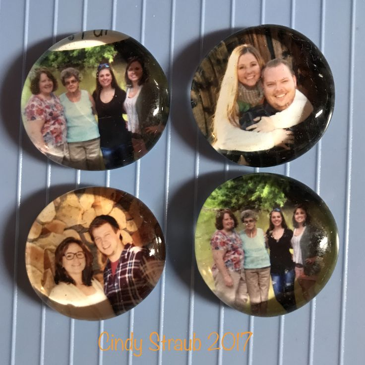 I made mod podge magnets from the order confirmation that came with my Shutterfly order!  Those little prints are just the perfect size!