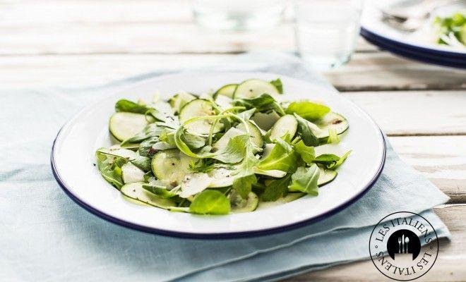 Carpaccio vegeterien avec les courgettes – Les Italiens - Mag