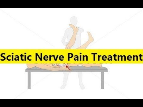 Sciatic Nerve Pain Treatment - Relief For Sciatic Nerve Pain