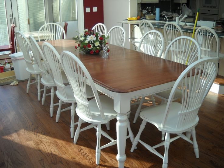 1000 Ideas About Refinished Dining Tables On Pinterest