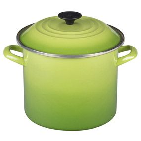 Le Creuset Enamel-on-Steel Stockpot, 8-Quart | CHEFScatalog.com