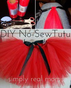 how to make a no sew tutu for toddler