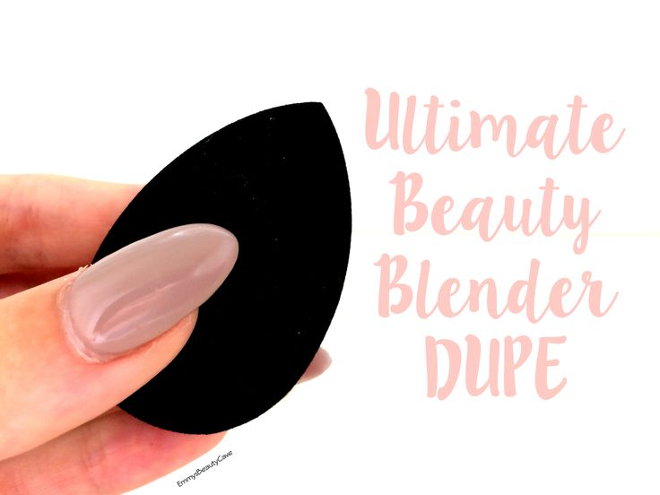 The Ultimate Beauty Blender DUPE.. I have tried and tested many beauty sponges and this is an EXACT DUPE...