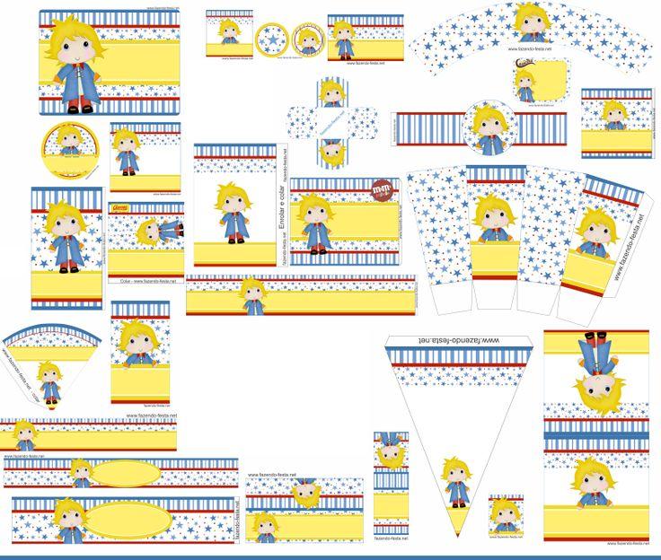 Mini Kit de El Principito para Imprimir Gratis.