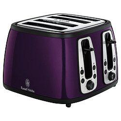 #RussellHobbs #purple #toaster