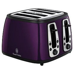 Nicer... #RussellHobbs #purple #toaster #kitchen