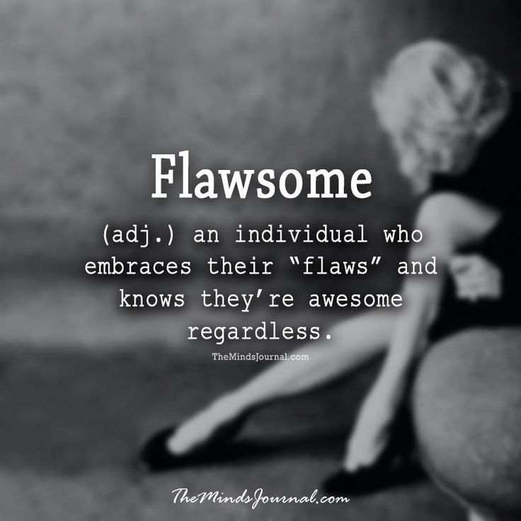 Flawsome -  - http://themindsjournal.com/flawsome/