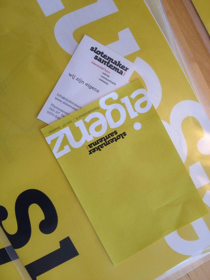 1 november 2013 start Eigenz by SlotemakerSantema bno  interactief buro voor - advies - communicatie - ontwerp