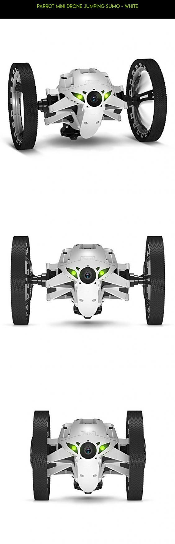 Parrot Mini Drone Jumping Sumo - White #technology #shopping #parts #camera #parrot #drone #plans #fpv #racing #products #tech #gadgets #kit #drone