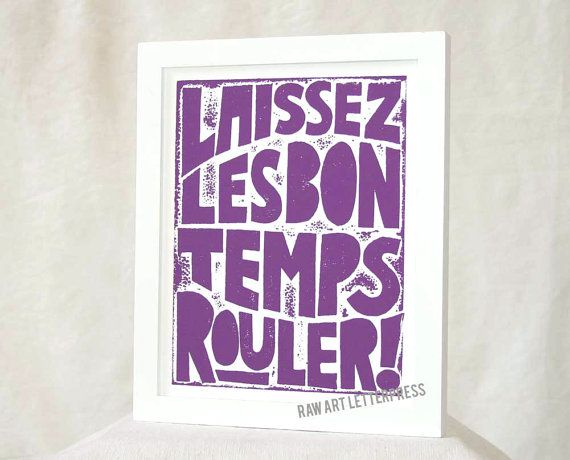 New Orleans Mardi Gras, Let the Good Times Roll, Typography Poster, Laissez Les Bon Temps Rouler