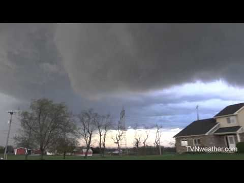 Tornado warned supercell near Harrisburg, PA on April 20, 2015!