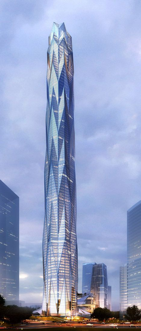 Construction starts on Smith and Gill's ice-inspired skyscraper for Chengdu.