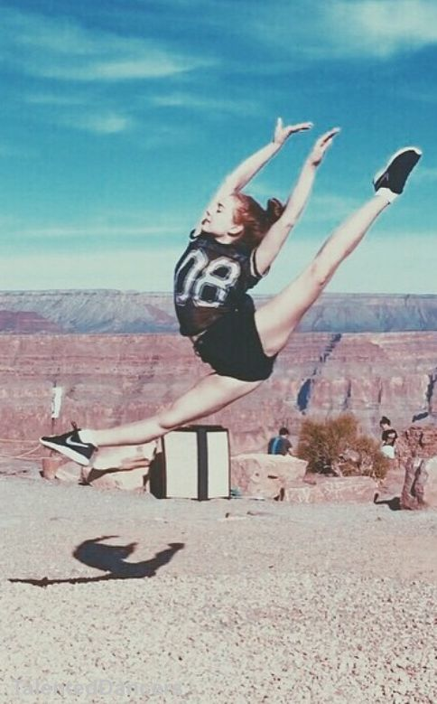 Ashleigh Ross's leaps are always on point
