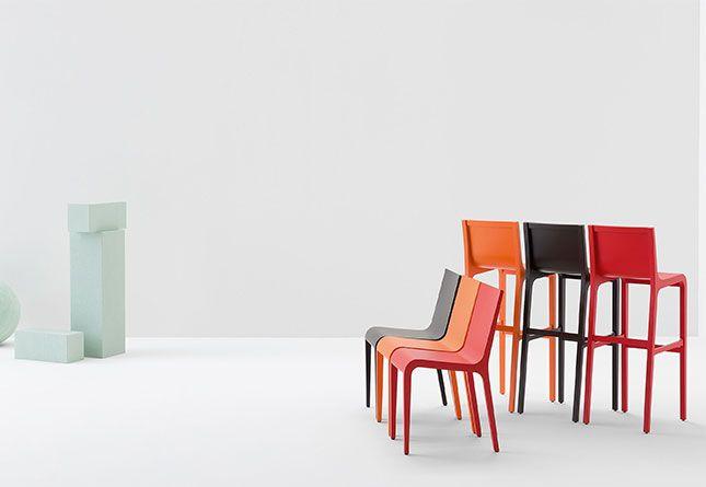 Foglia Barstool By Billiani   Hub Furniture Lighting Living