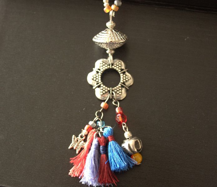 Ketten lang - Kette Blue Collection - ein Designerstück von MIO-O bei DaWanda