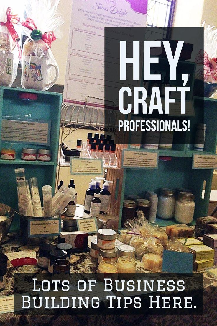 Starting a craft business? Start here http://www.craftprofessional.com
