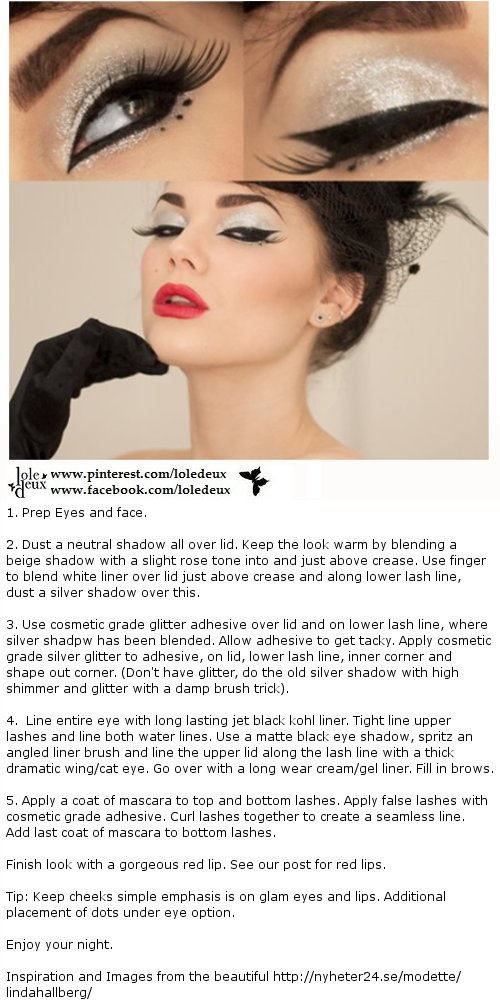 This look by Linda Hallberg was again too gorgeous to ignore. #loledeux
