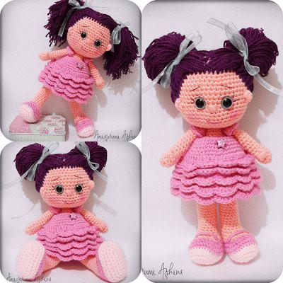 Amigurumi Mini Dolls : Tiny Mini Design: Amigurumi Bebekler-Dolls Yarn Dolls ...