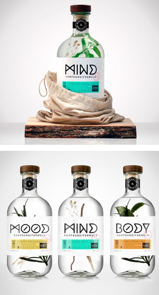 Herbalist & Alchemist Branding by Chad Michael - just beautiful. Fresh and natural, but still with a scientific twist.