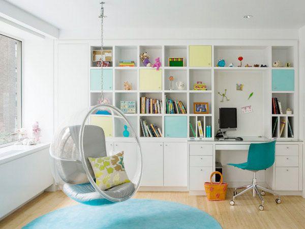 Ótima ideia para quarto de criança!