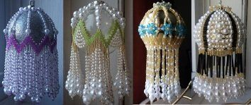 Beaded Ornament Cover Instructions -