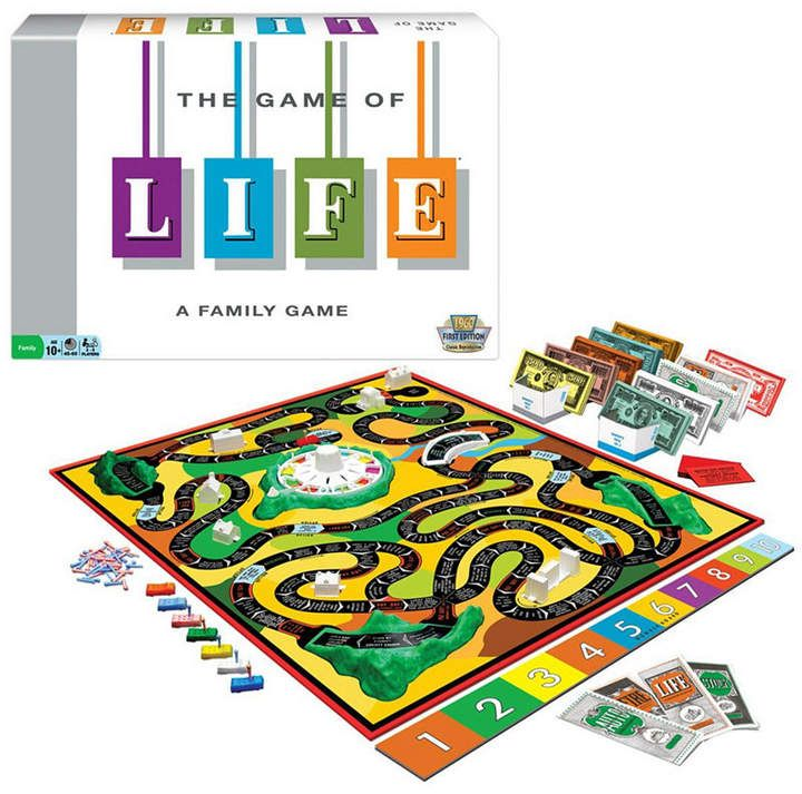 Winning Moves The Game Of Life Classic Edition Reviews Kids Macy S Life Board Game No Game No Life Classic Board Games