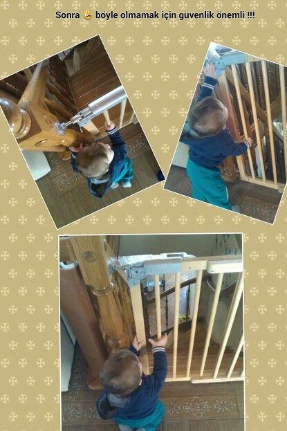 Merdiven  güvenliği , merdiven kapıları,  pahalı olmayan dublex evlerin olmazsa olmazları ( çocuk bebek )